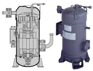 Compressor Daikin Scrool LXE10E